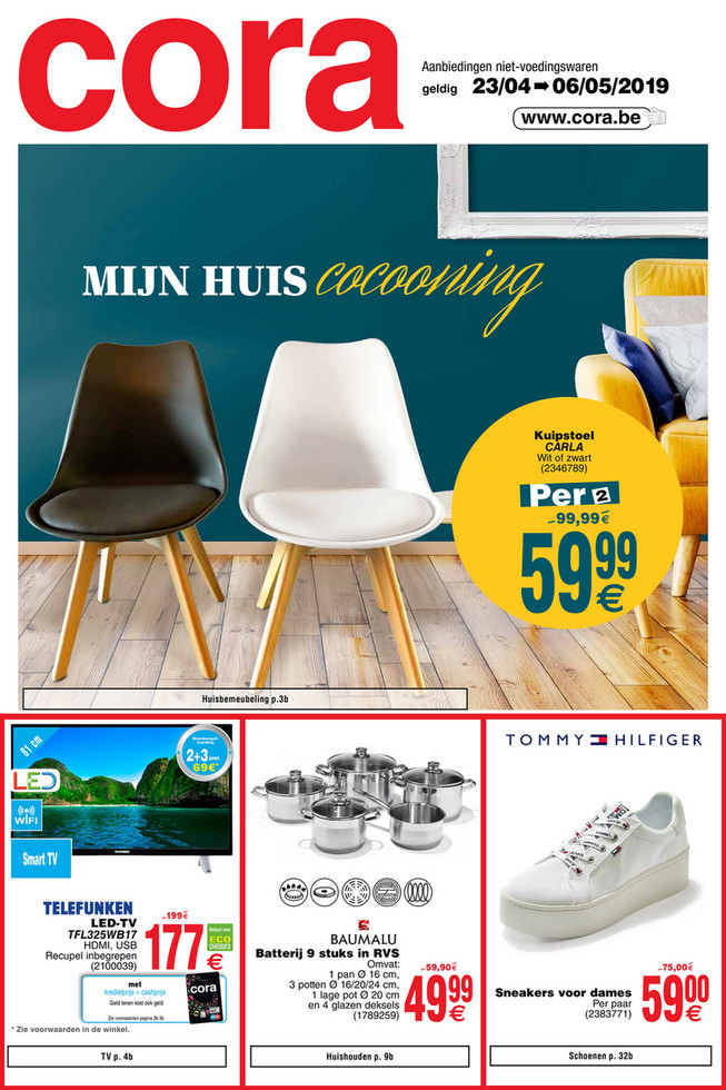 Cora folder van 23/04/2019 tot 06/05/2019 - Weekpromoties 17 non food