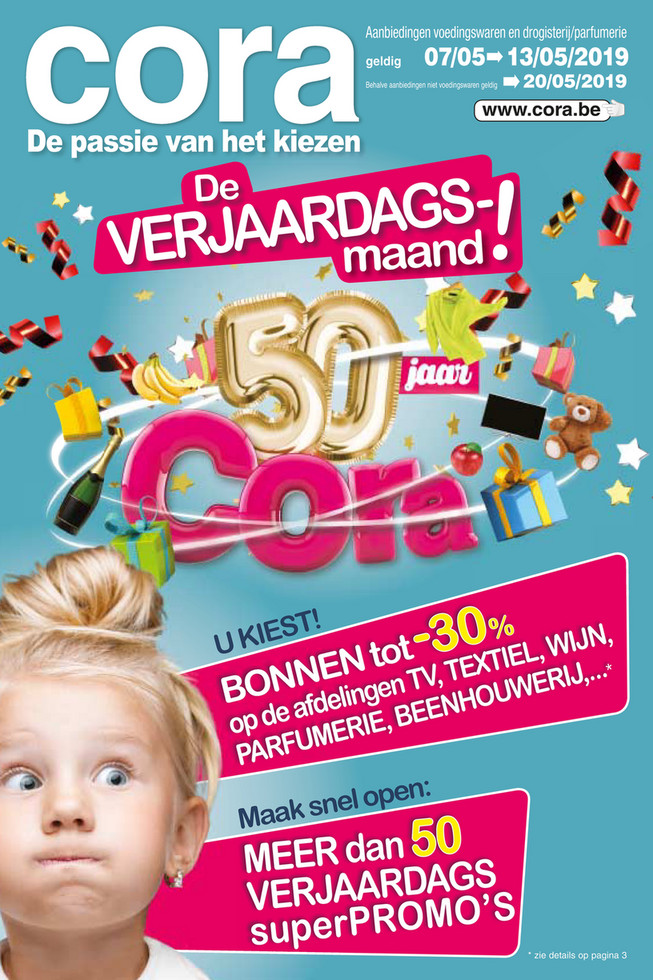 Cora folder van 07/05/2019 tot 20/05/2019 - Weekpromoties 19