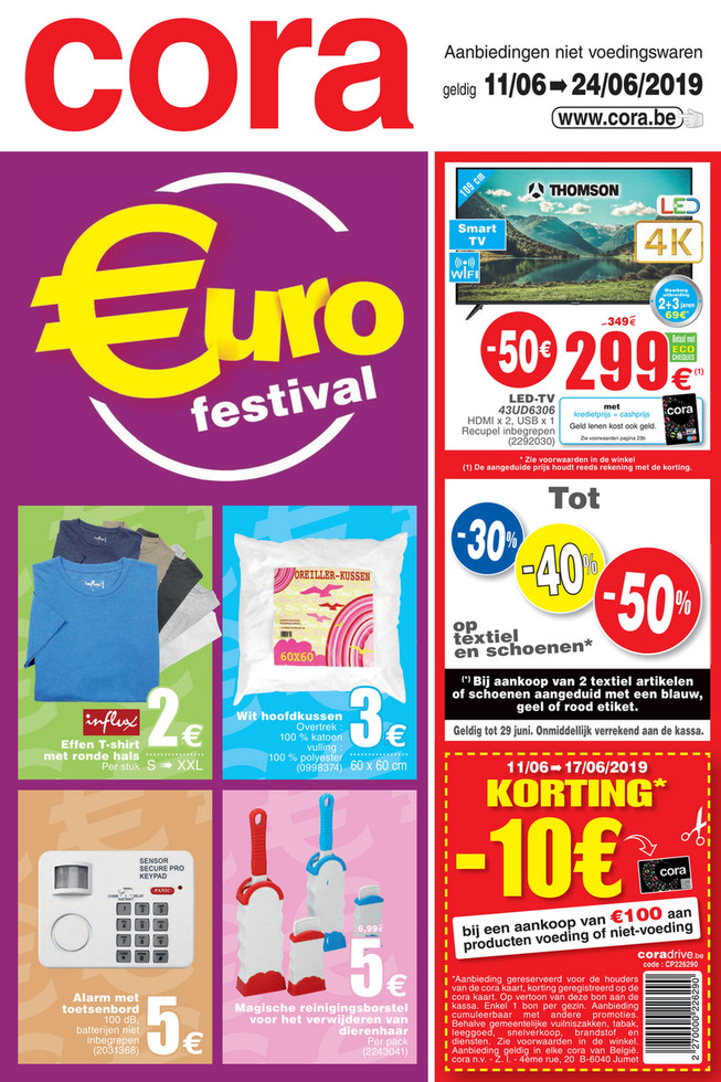 Weekpromoties 24 non food