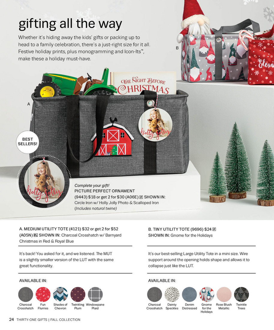 Thirty One Christmas 2020 Thirty One Gifts   Thirty One Fall 2020 Catalog   Page 24 25