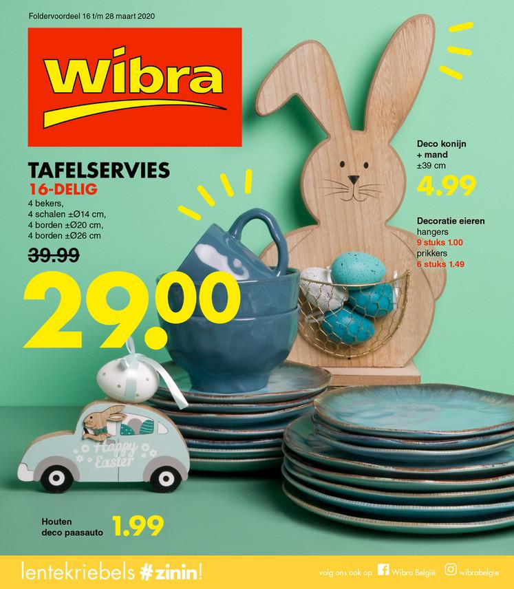 Wibra folder van 16/03/2020 tot 28/03/2020 - Weekpromoties 11
