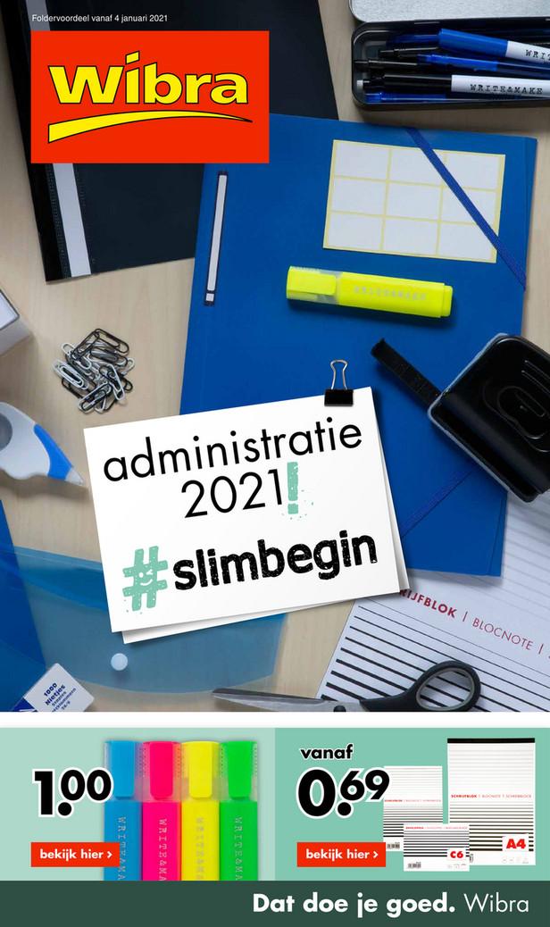 Wibra folder van 04/01/2021 tot 31/01/2021 - Maandpromoties januari