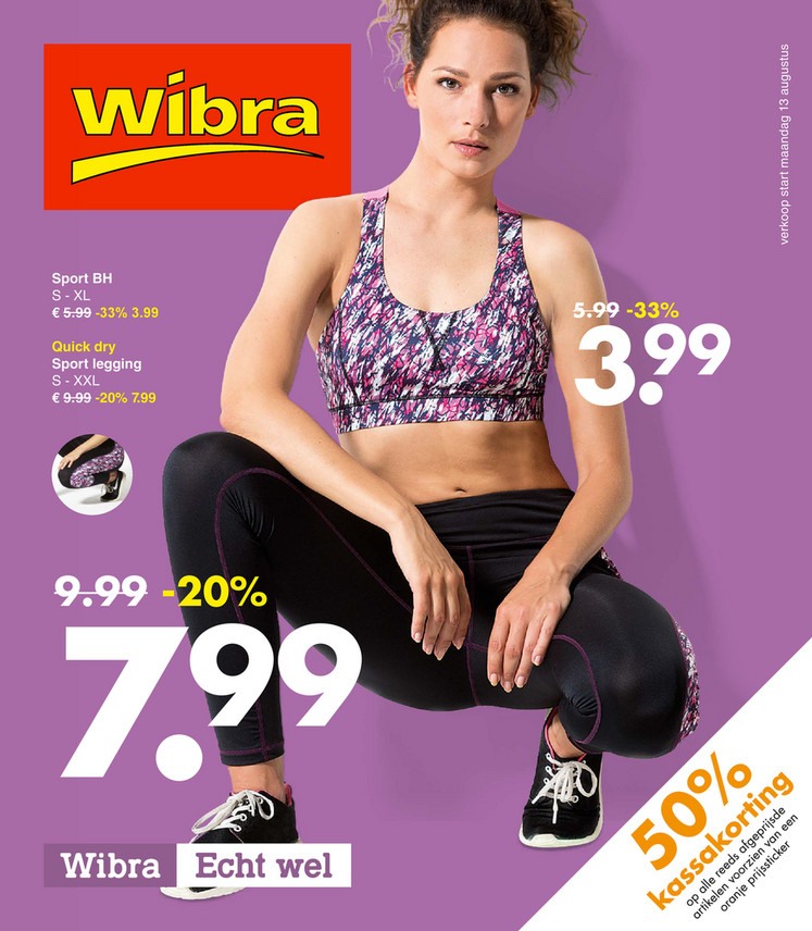 Wibra folder van 13/08/2018 tot 25/08/2018 - Promoties van de week (augustus)
