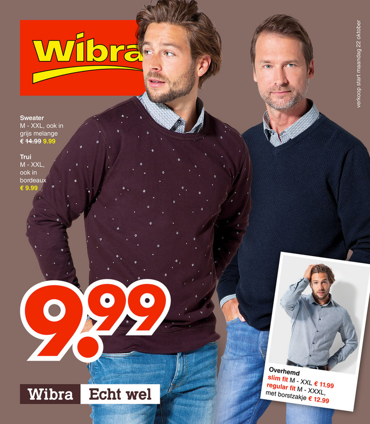 Wibra folder van 22/10/2018 tot 03/11/2018 - Weekpromoties 43