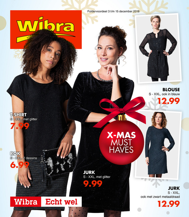 Wibra folder van 03/12/2018 tot 15/12/2018 - Weekpromoties 49
