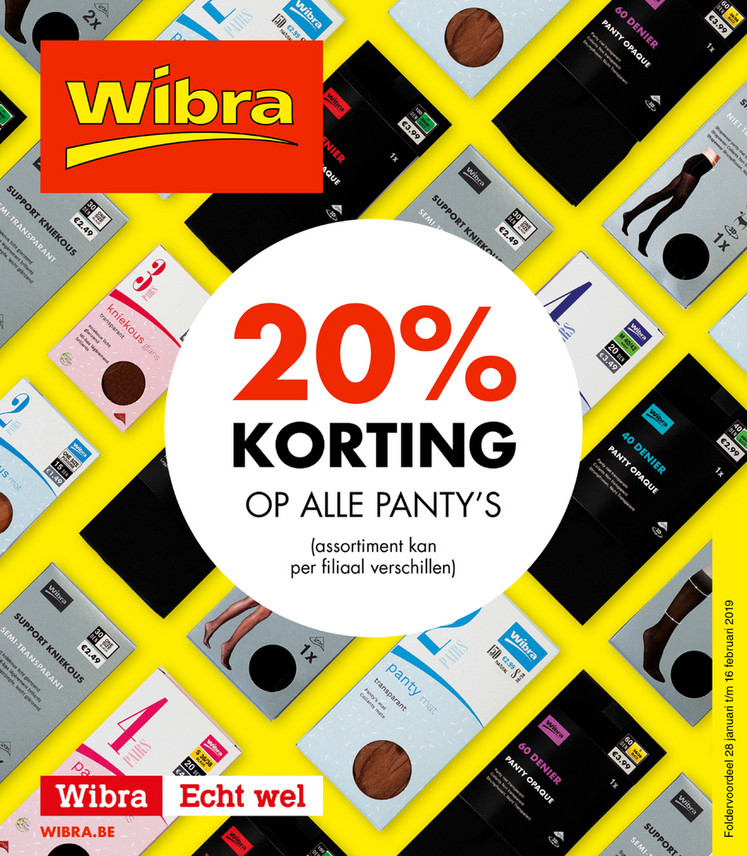 Wibra folder van 28/01/2019 tot 16/02/2019 - Weekpromoties 5