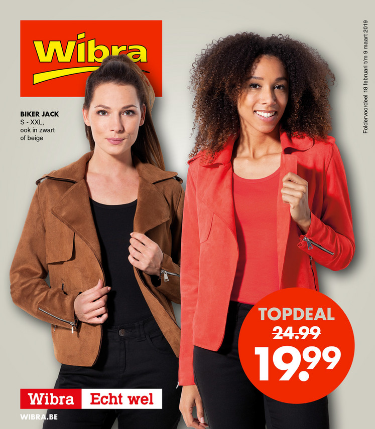 Wibra folder van 18/02/2019 tot 09/03/2019 - Weekpromoties 8