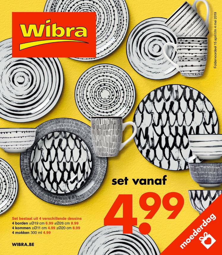 Wibra folder van 15/04/2019 tot 04/05/2019 - Weekpromoties 15