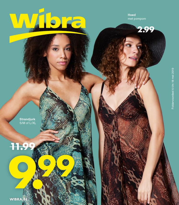 Wibra folder van 06/05/2019 tot 18/05/2019 - Weekpromoties 18