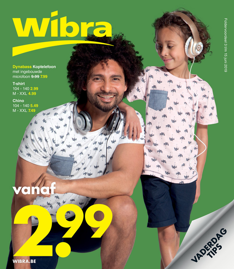 Wibra folder van 03/06/2019 tot 15/06/2019 - Weekpromoties 21