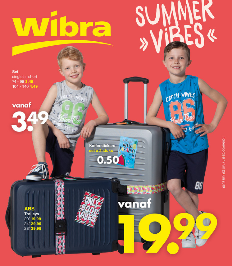 Wibra folder van 17/06/2019 tot 29/06/2019 - Weekpromoties 25