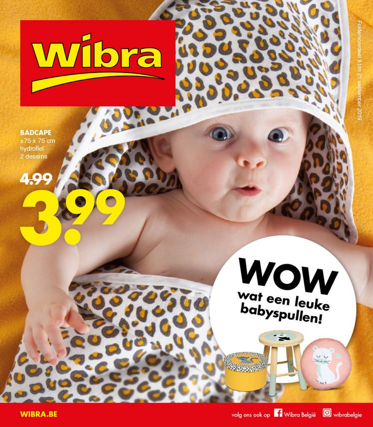 Wibra folder van 09/09/2019 tot 21/09/2019 - Weekpromoties 35