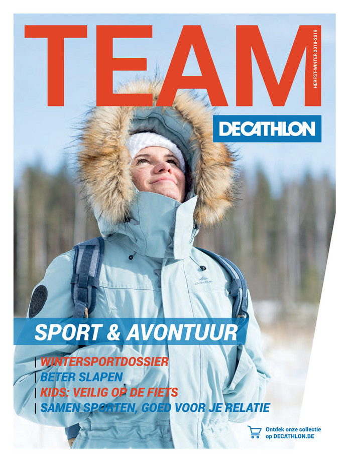 Decathlon folder van 08/10/2018 tot 23/12/2018 - Magazine