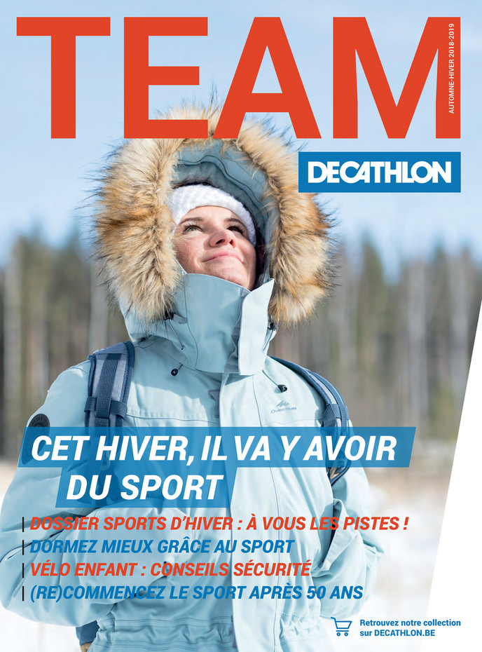Folder Decathlon du 08/10/2018 au 21/03/2019 - Magazine
