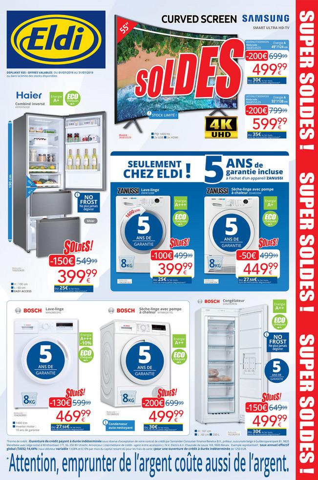 Folder Eldi du 01/07/2019 au 31/07/2019 - Promotions du mois