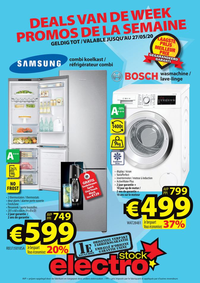 Folder ElectroStock du 20/05/2020 au 27/05/2020 - Promotions de la semaine 21