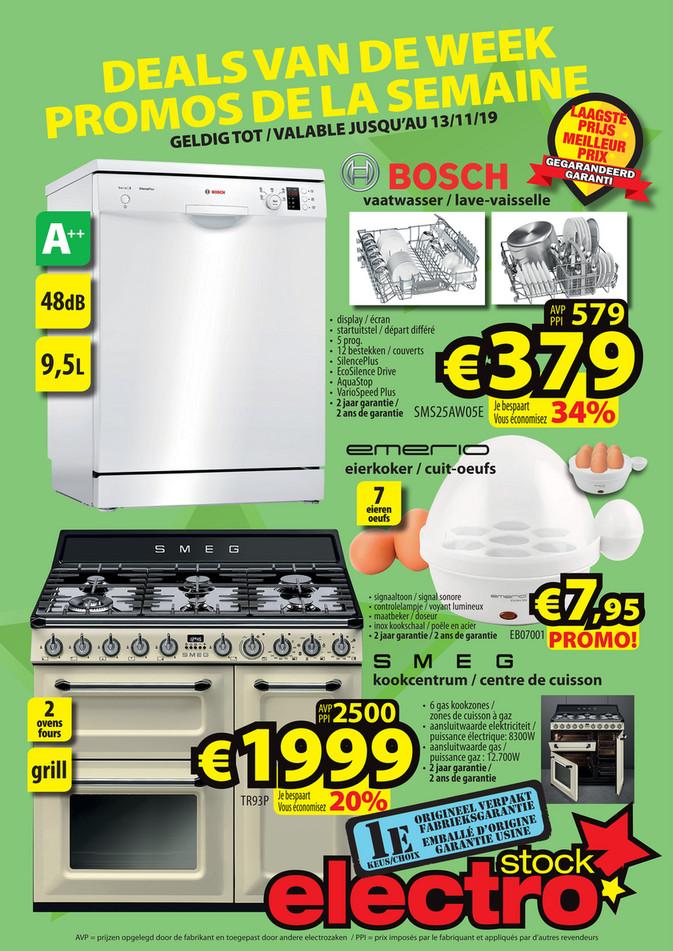 ElectroStock folder van 06/11/2019 tot 13/11/2019 - Weekpromoties 45