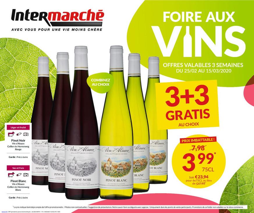 Promotions de la semaine 09a vin
