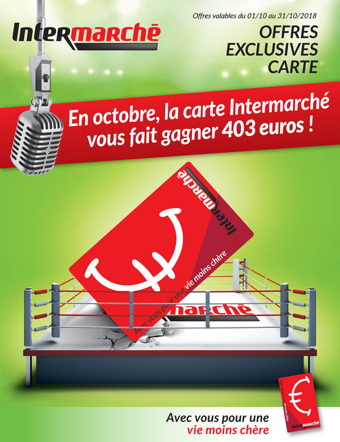 Folder Intermarché du 01/10/2018 au 31/10/2018 - Promotions du mois