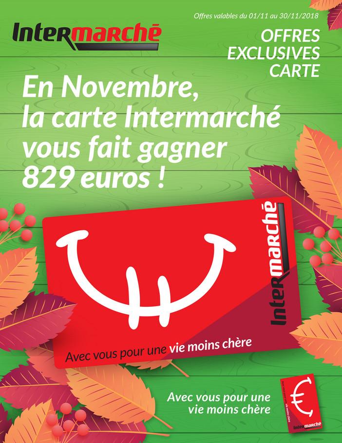 Folder Intermarché du 01/11/2018 au 30/11/2018 - Promotions du mois