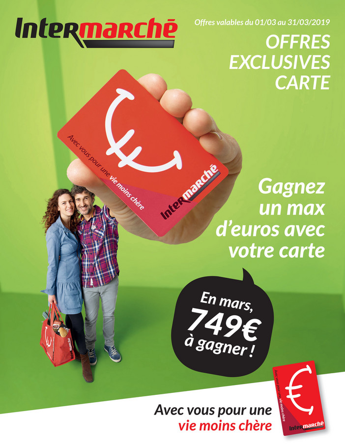 Offres exclusives carte