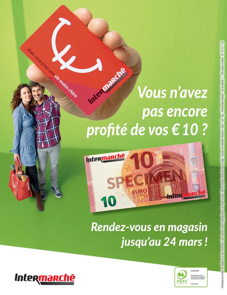 Carte Intermarche Belgique.Folder Intermarche Du 01 03 2019 Au 31 03 2019 Offres Exclusives Carte