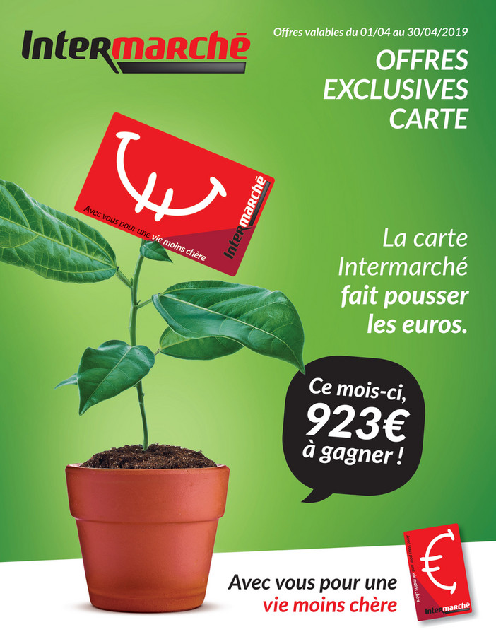 Folder Intermarché du 01/04/2019 au 30/04/2019 - Promotions du mois