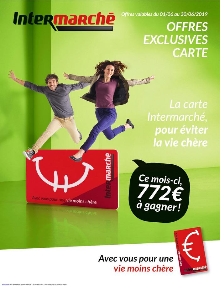 Folder Intermarché du 01/06/2019 au 30/06/2019 - Promotions du mois