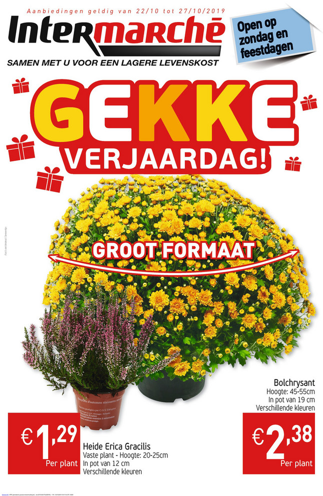 Intermarché folder van 22/10/2019 tot 27/10/2019 - Weekpromoties 43