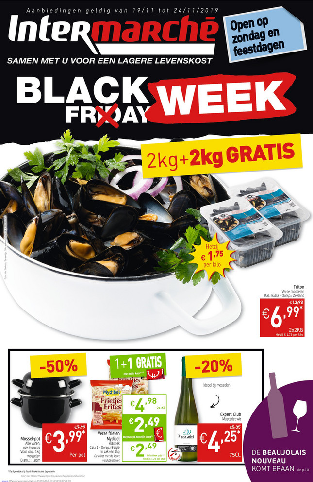 Intermarché folder van 19/11/2019 tot 24/11/2019 - Weekpromoties 47