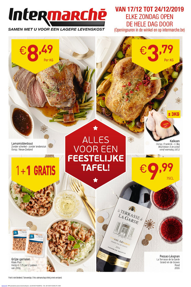 Intermarché folder van 17/12/2019 tot 24/12/2019 - Weekpromoties 51