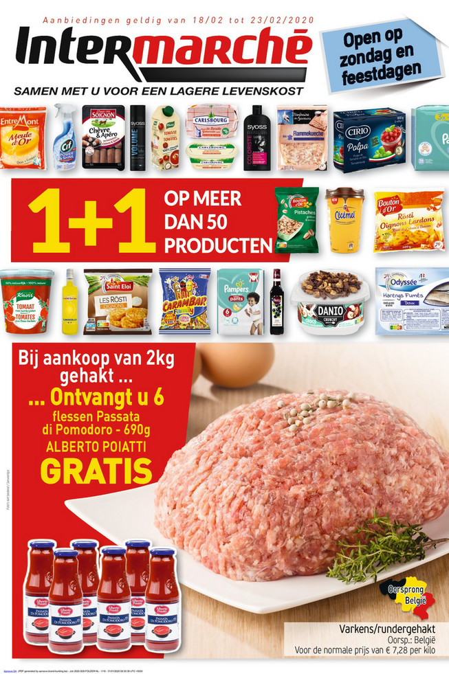 Intermarché folder van 18/02/2020 tot 23/02/2020 - Weekpromoties 08