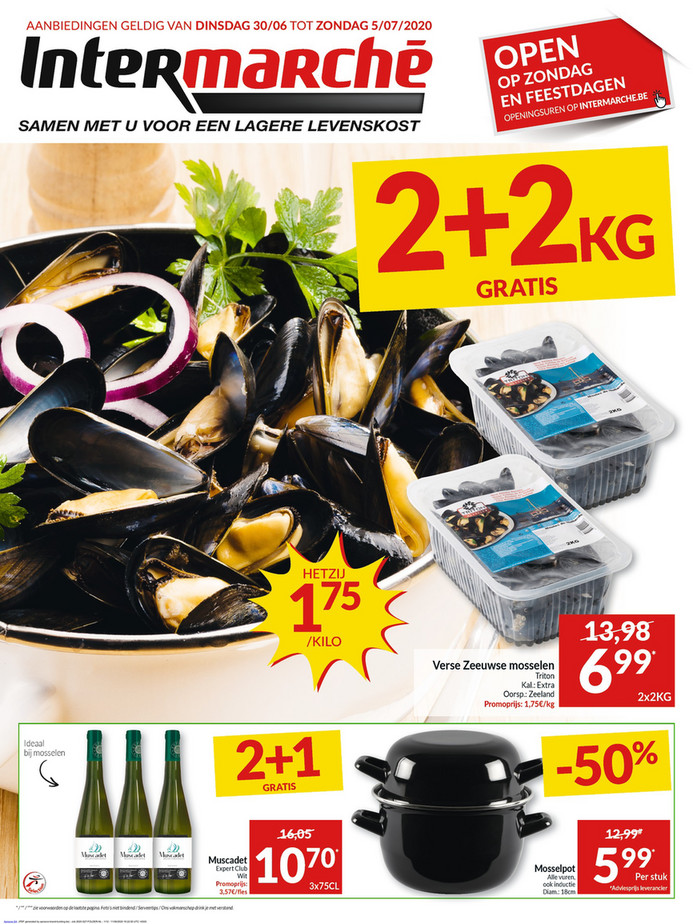 Intermarché folder van 30/06/2020 tot 05/07/2020 - Weekpromoties 27