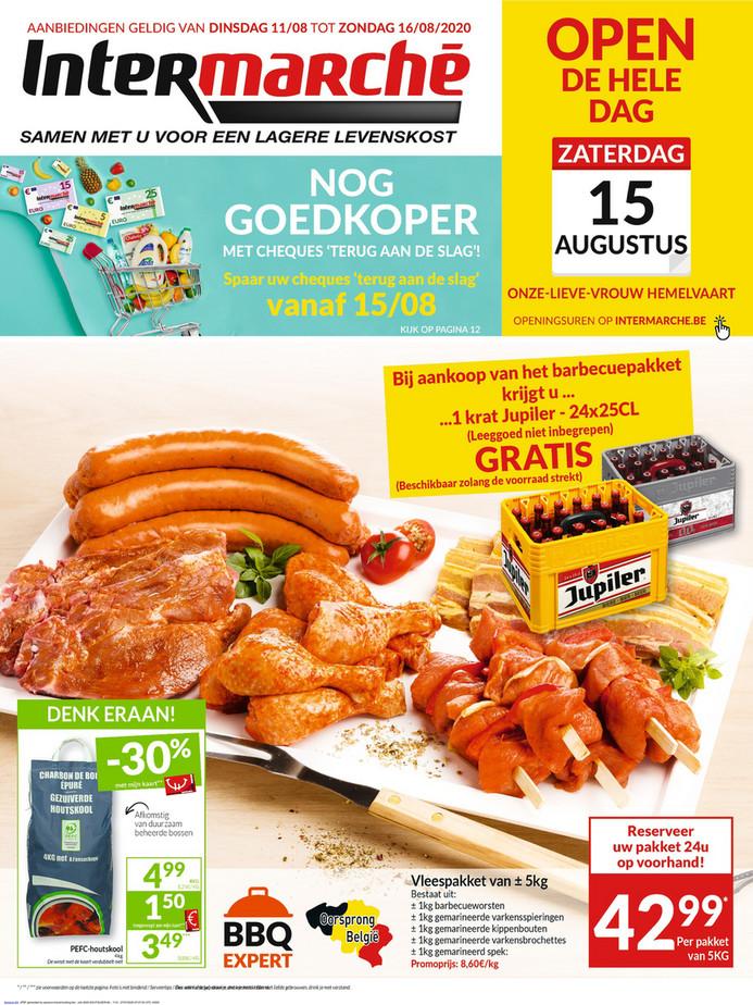 Intermarché folder van 11/08/2020 tot 16/08/2020 - Weekpromoties 33