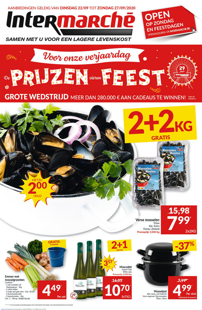 Intermarché folder van 22/09/2020 tot 27/09/2020 - Weekpromoties 39