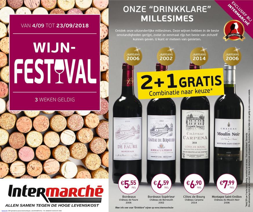 Intermarché folder van 04/09/2018 tot 23/09/2018 - Wijnfestival