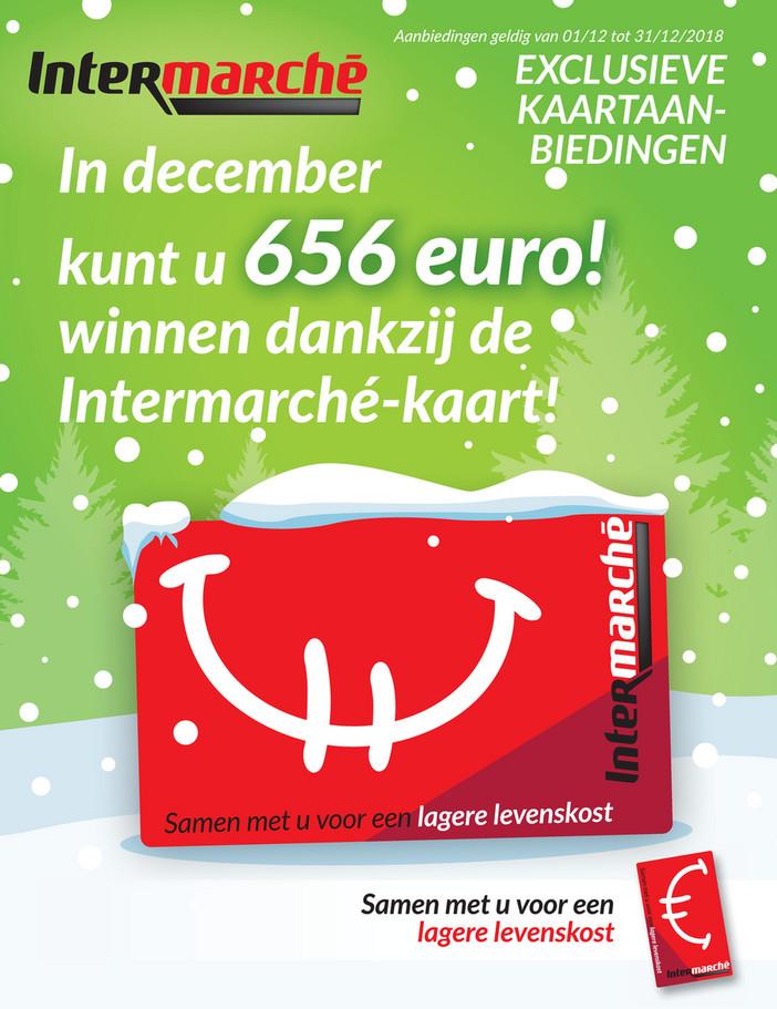 Intermarché folder van 01/12/2018 tot 31/12/2018 - maandpromoties