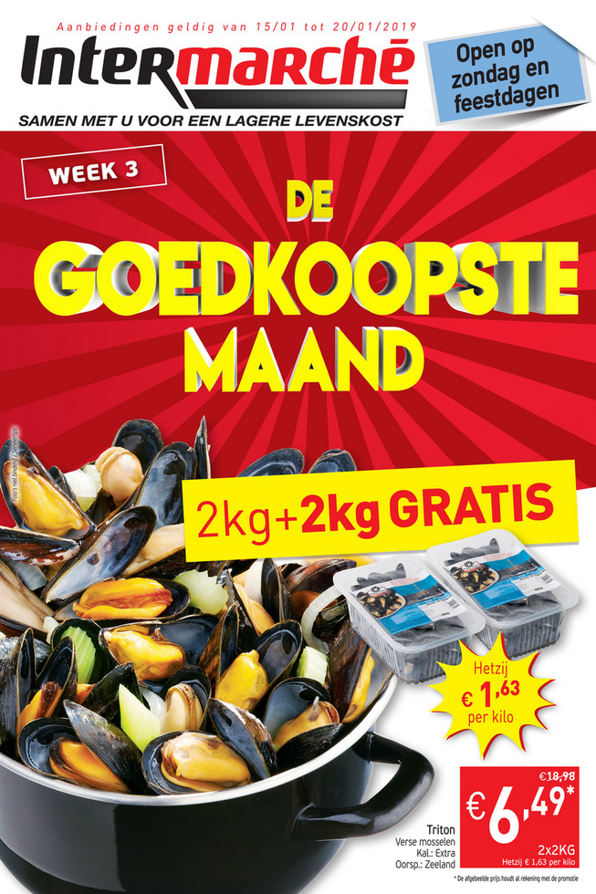 Intermarché folder van 15/01/2019 tot 20/01/2019 - Weekpromoties 3
