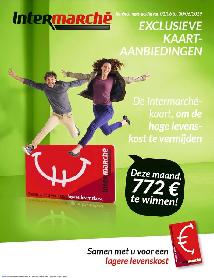 Intermarché folder van 01/06/2019 tot 30/06/2019 - Maandpromoties