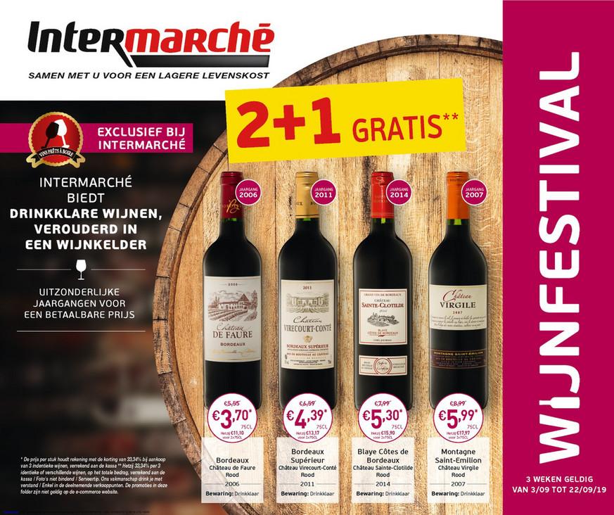 Intermarché folder van 03/09/2019 tot 22/09/2019 - Weekpromoties 36a