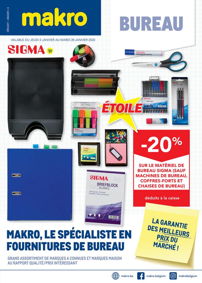 Folder Makro du 02/01/2020 au 28/01/2020 - Bureau