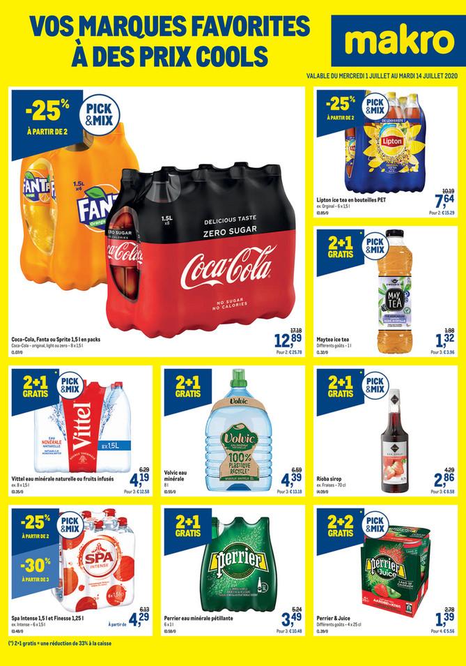 Promotions de la semaine 27 marques