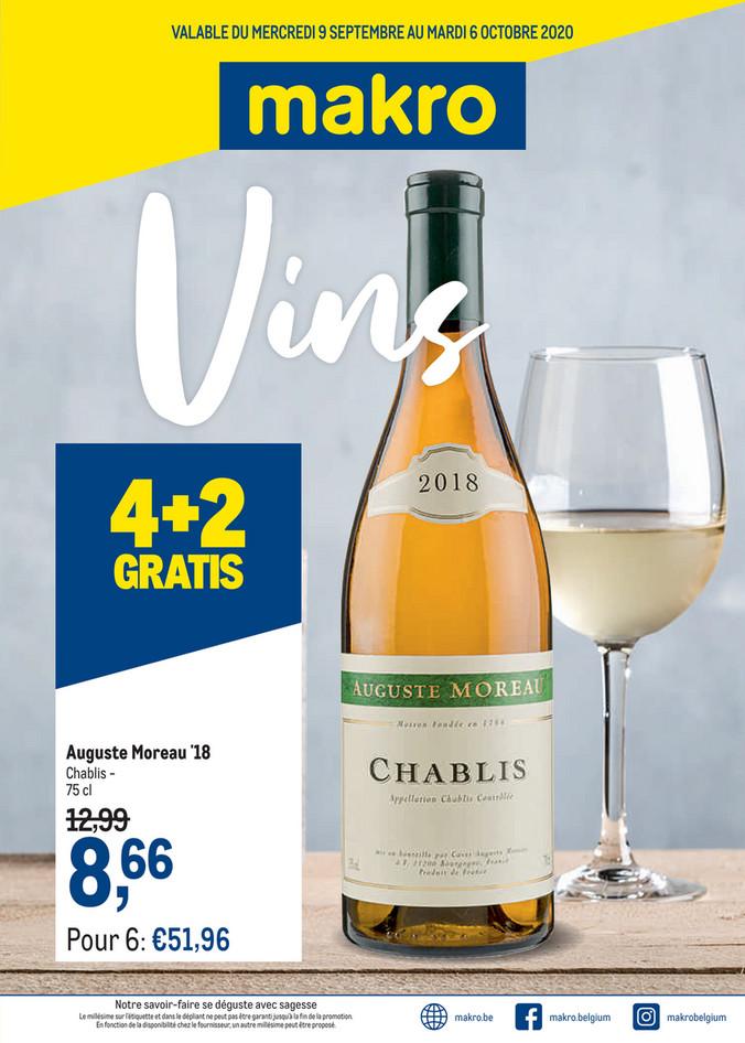 Promotions de la semaine 37 Wijn