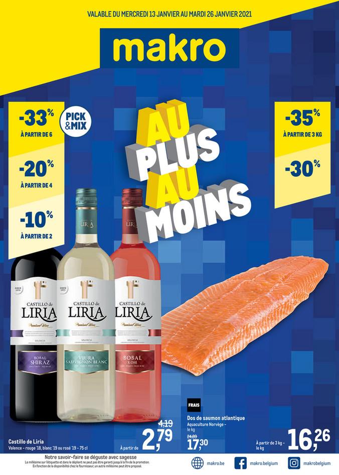 Folder Makro du 13/01/2021 au 26/01/2021 - Food - promotions de la semaine 2