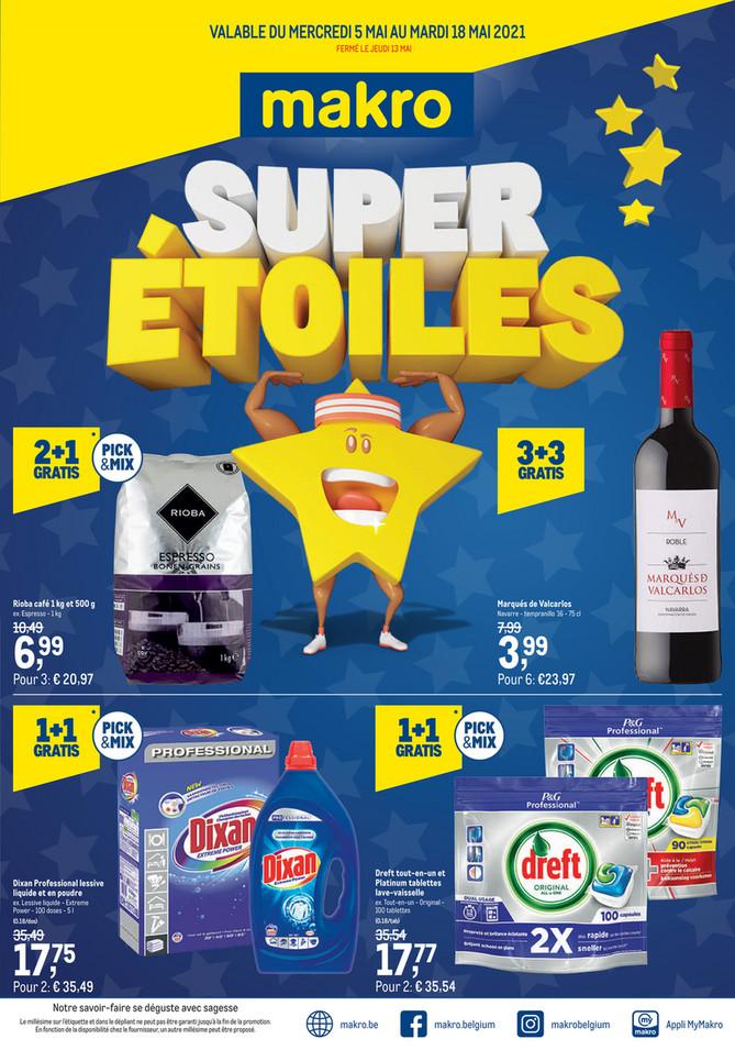 Promotions de la semaine 18 Supersterren-F