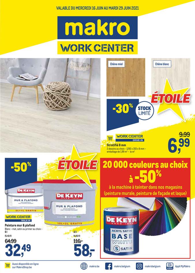 Folder Makro du 16/06/2021 au 29/06/2021 - Promotions de la semaine 24 Work Center 2