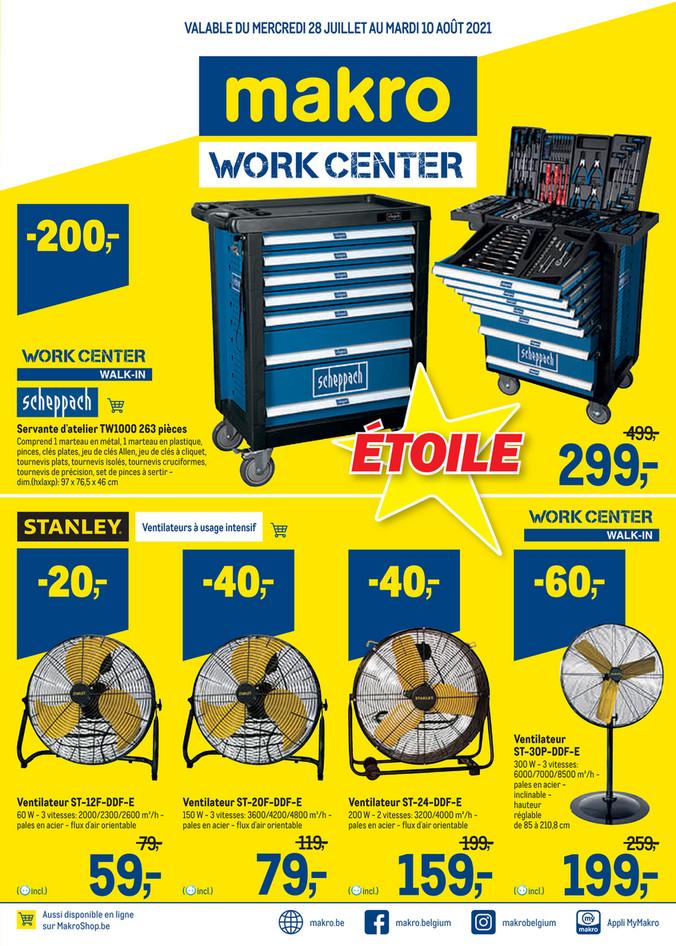 Promotions de le semaine 29 workcenter