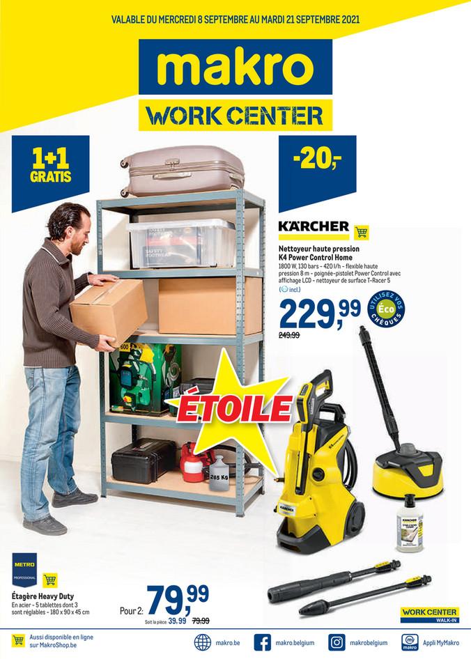 Promotions de la semaine 37 workcenter