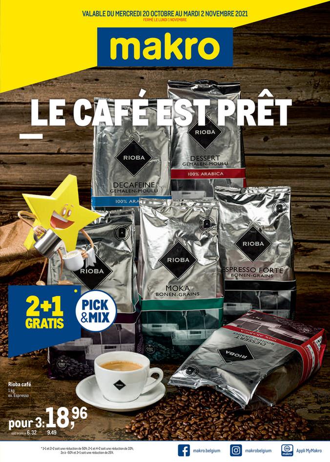 Promotions de la semaine 40 koffie