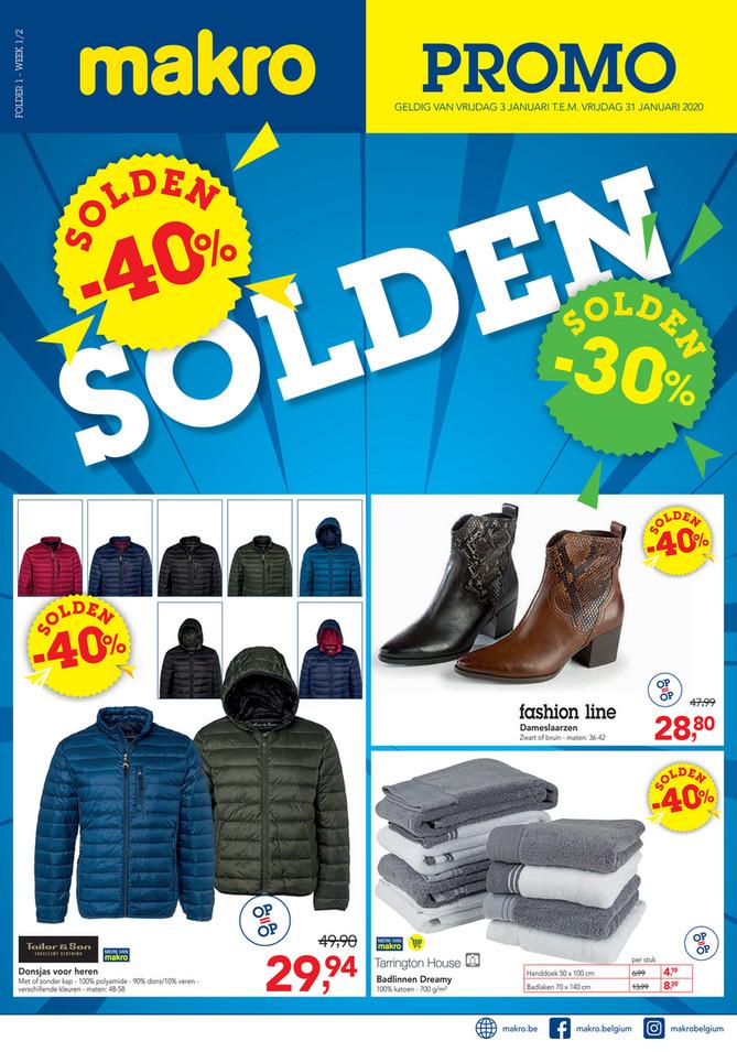 Makro folder van 03/01/2020 tot 31/01/2020 - Solden